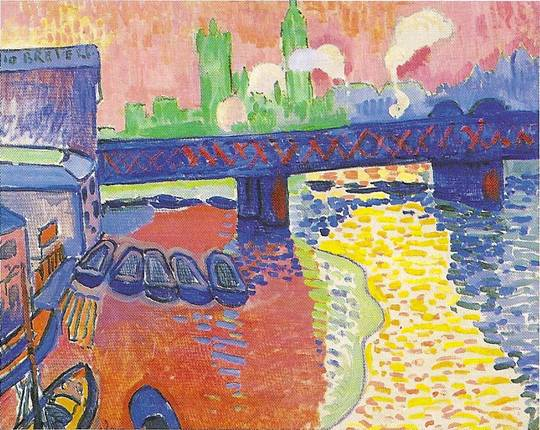 Derain André: Most Charing Cross, 1906