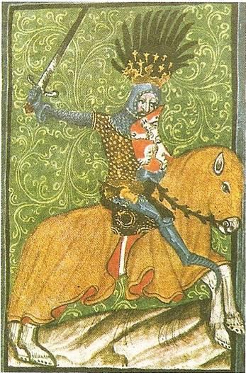 João, o Cego é o arquétipo do Rei-Cavaleiro
